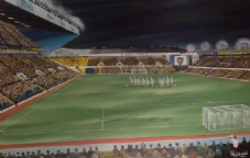 'Marching on Together' - Elland Road Memory' - 20'' x 30'' approx poster print